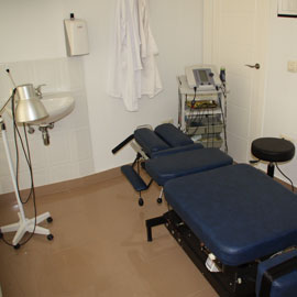 Sala de Osteopatía